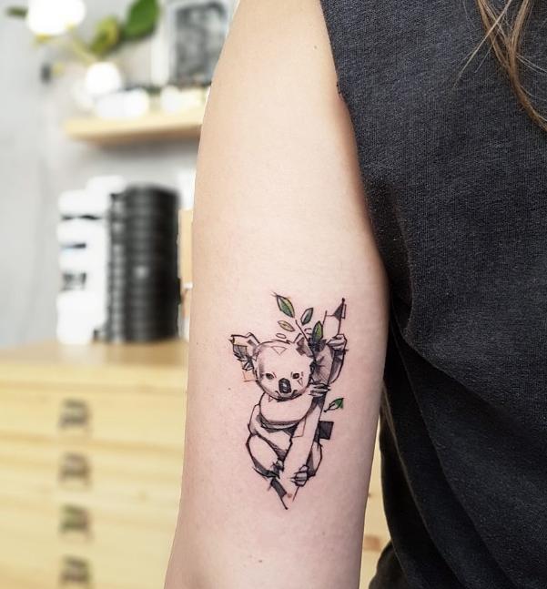 Koala Bear Tattoo