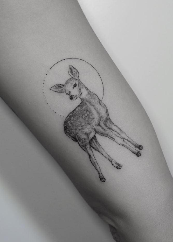 Little Deer Tattoo