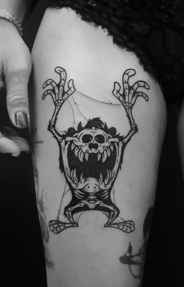 Tasmanian Devil Tattoo